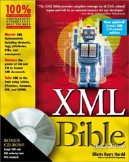 Cover of the XML Bible, 2nd Edition