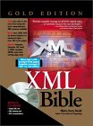 XML Bible Gold Book Cover