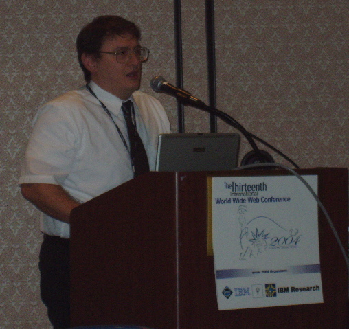 John Boyer at WWW2004