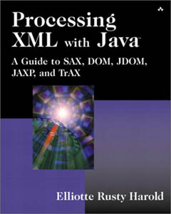Procesing XML with Java book cover